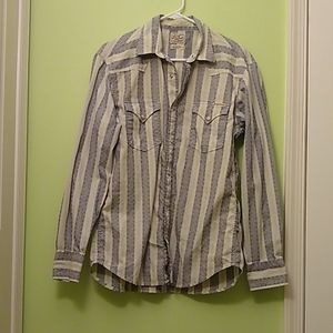 Men's lucky brand Western shirt